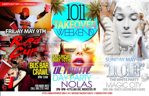 1011 Takeover Weekend