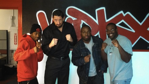 Wrestler Wade Barrett and the WUC