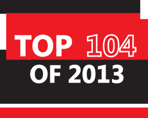 Album Cover - Top 104 of 2013