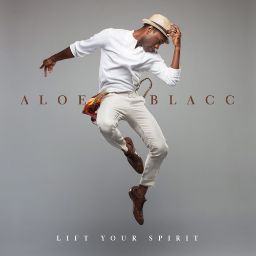 Aloe Blacc CD Album Cover - Lift Your Spirit