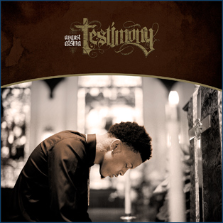 August Alsina CD Album Cover - Testimony
