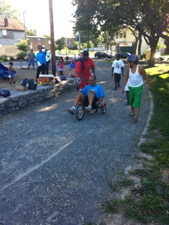 Conkey Cruisers: Dre On the Little Tricycle