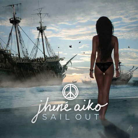 Jhene Aiko CD Album Cover - Sail Out