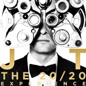 Justin Timberlake CD Album Cover - The 20 20 Experience