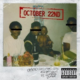 Kendrick Lamar CD Album Cover - good kid, m.A.A.d city a short film by...