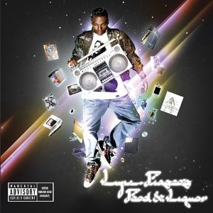 Lupe Fiasco CD Album Cover - Food & Liquor II: The Great American Rap