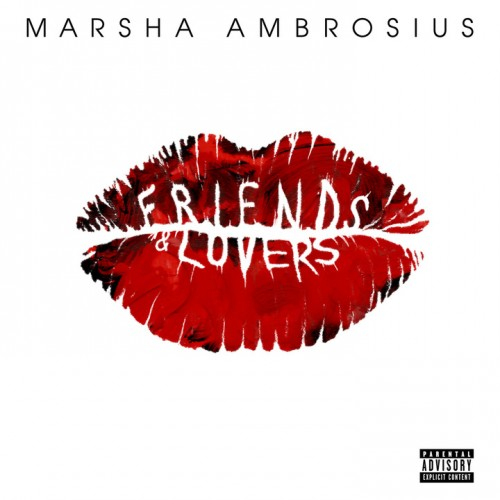 Marsha Ambrosius CD Album Cover - Friends And Lovers