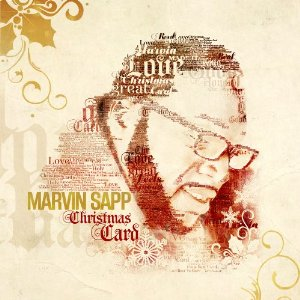 Marvin Sapp CD Album Cover - Christmas Card