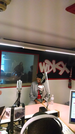 Mayor Lovely Warren In WDKX Studio