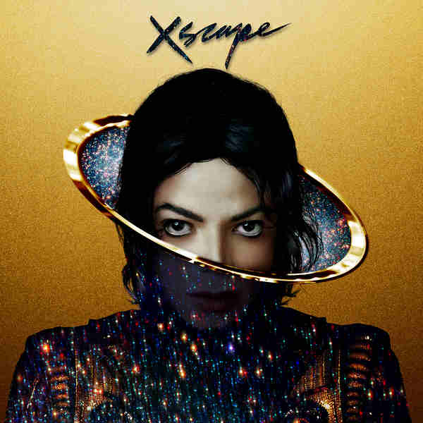 Michael Jackson CD Album Cover - Xscape