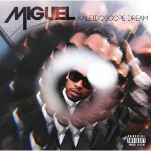 Miguel CD Album Cover - Kaleidoscope Dream