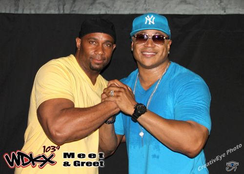 LL Cool J Meet and Greet with Raheem
