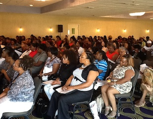 The Crowd at Women for Women