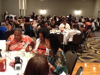 Crowd at Women for Women Event