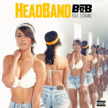 B.o.B. Promotion Picture - Headband
