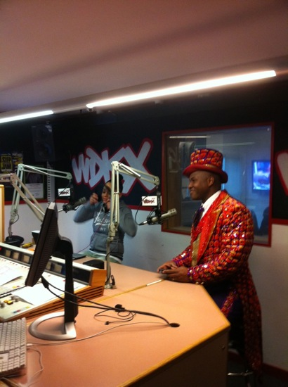 Ringmaster in the WDKX Studios 2