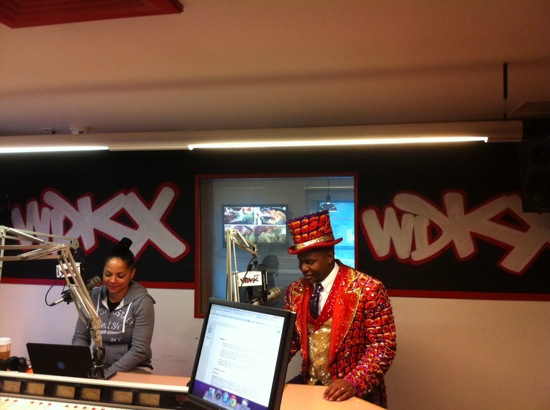 Ringmaster in the WDKX Studios