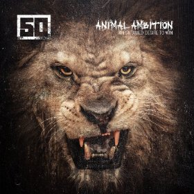 50 Cent CD Album Cover - Animal Ambition