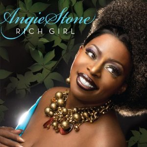 Angie Stone CD Album Cover - Rich Girl