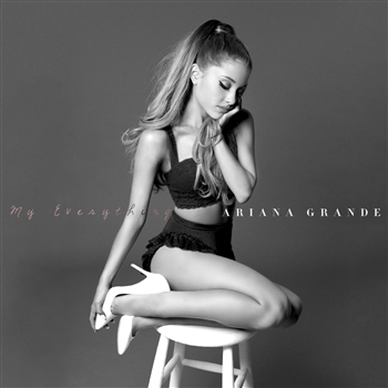 Ariana Grande CD Album Cover - My Everything