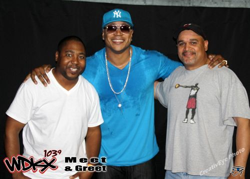 LL Cool J Meet and Greet with Atu and Efrain