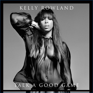 Kelly Rowland CD Album Cover - Talk A Good Game