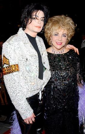 Michael Jackson And Liz Taylor