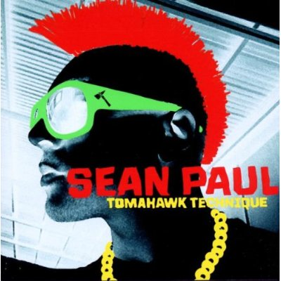 Sean Paul CD Album Cover - Tomahawk Technique