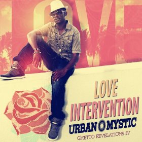 Urban Mystic CD Album Cover - Love Intervention