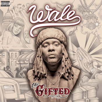 Wale CD Album Cover - The Gifted