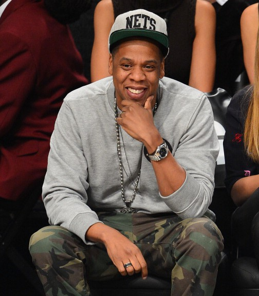 Celebrities Attend The New York Knicks Vs Brooklyn Nets Game
