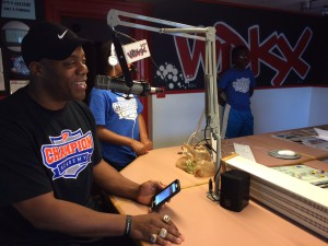 Roland Williams on WDKX Wake Up Club