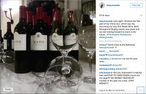 Dwyane Wade's new wine label Wade