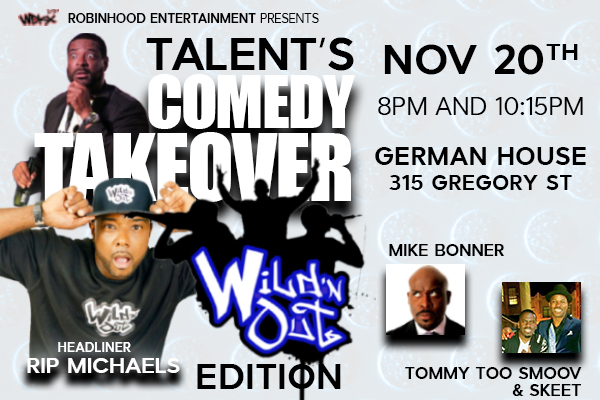 Comedy Takeover (Wild N Out) Banner