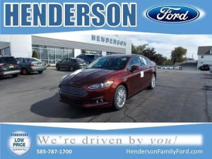 2016 Ford Fusion AWD