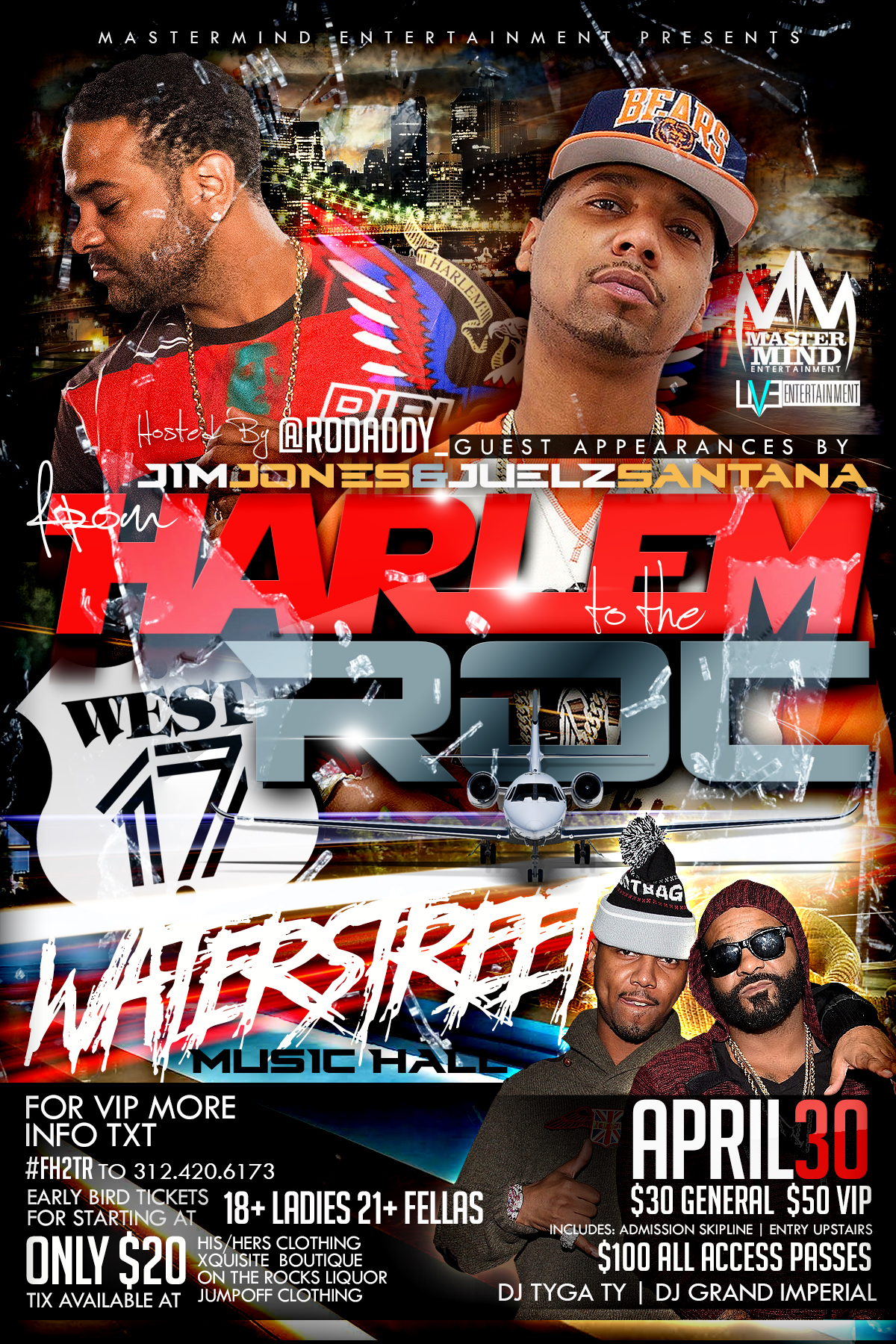 Watersteet April 30