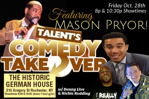 Talent's Comedy Takeover - Feat. Mason Pryor