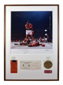 Ali Photo - Guernsey's Auction