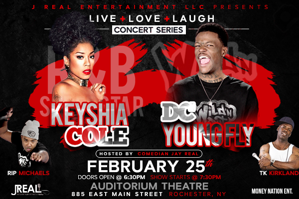 Keyshia Cole (Live Love Laugh) BANNER