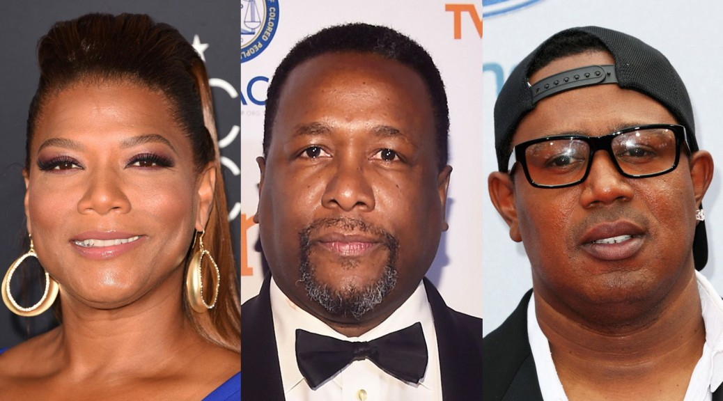 082315-celebs-queen-latifah-wendell-pierce-master-p
