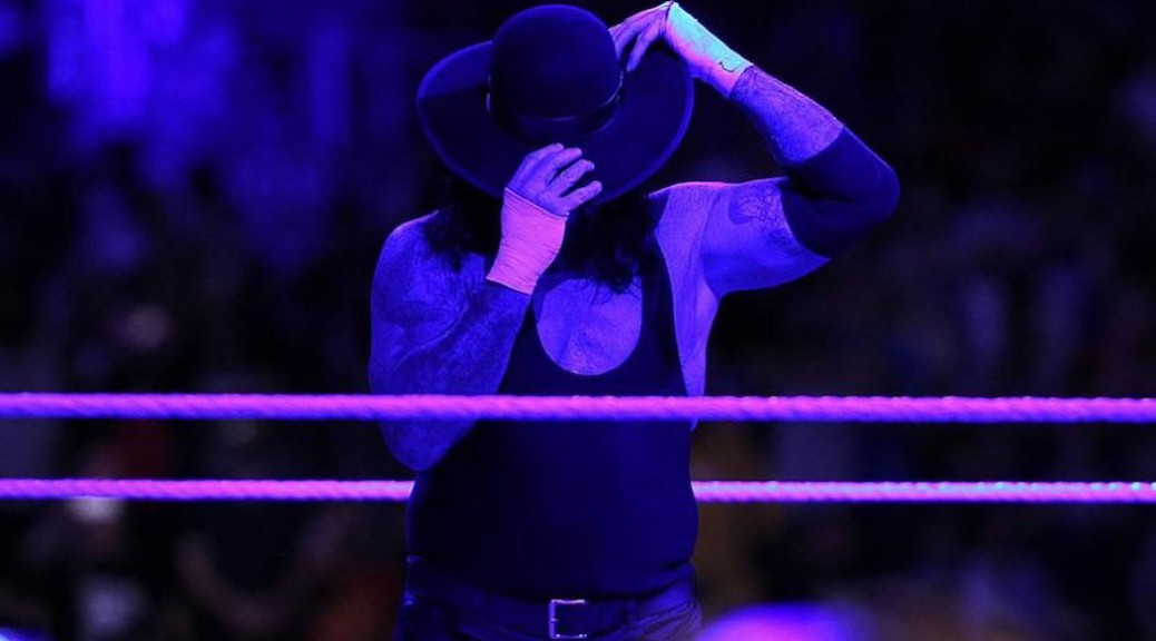 The-Undertaker-Leaves-Everything-In-The-Ring-at-Wrestlemania-33