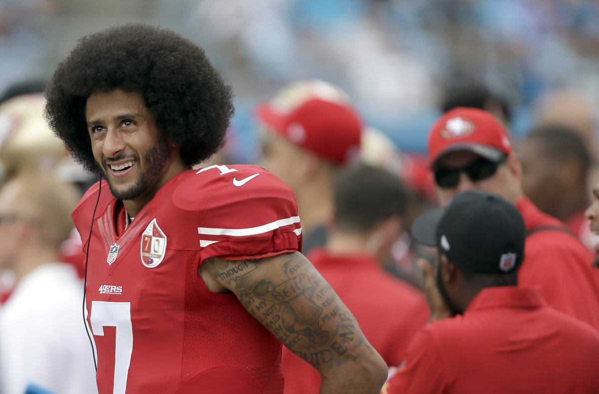 bb13a5ad217 Colin Kaepernick s Jersey May Be On Display In The Smithsonian Museum