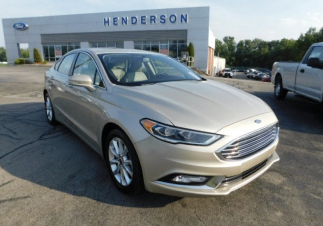2017 Ford Fusion S Model