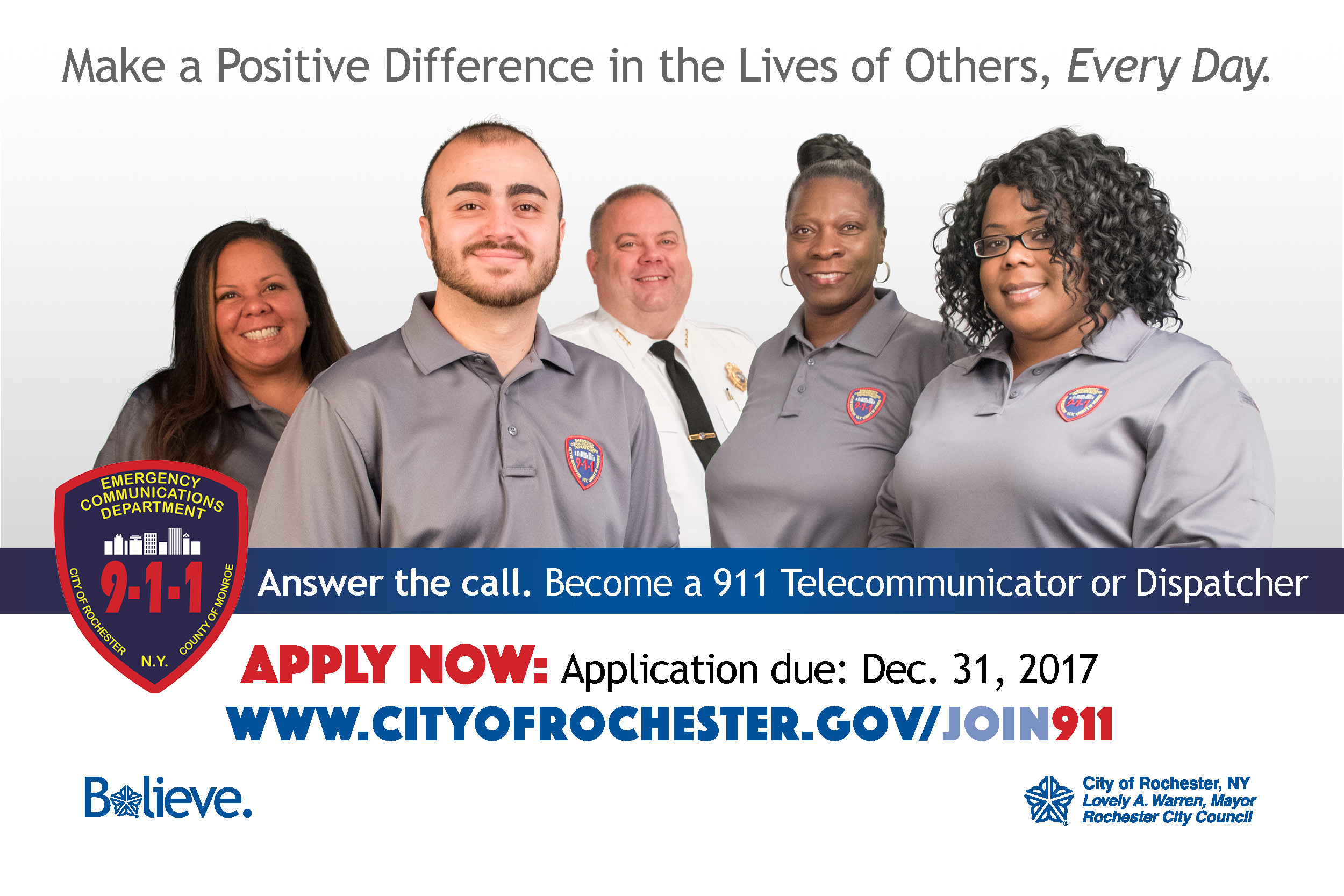 Join 911 Team