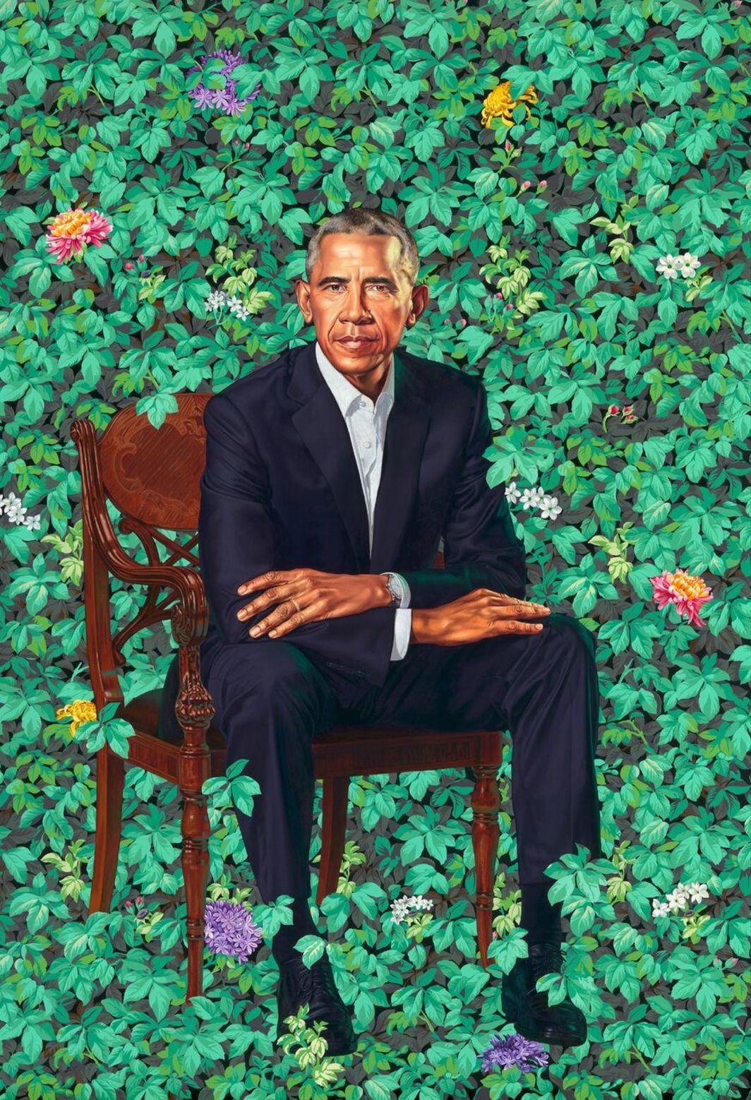 Portrait By: Kehinde Wiley