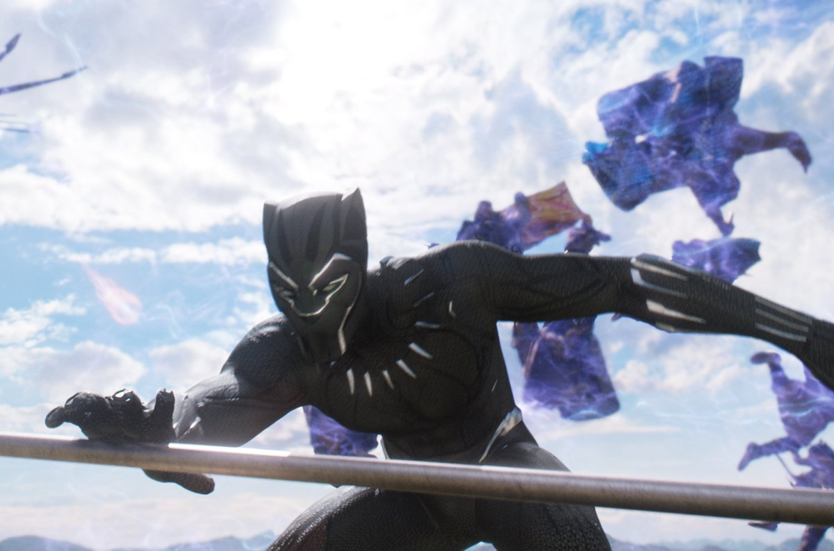 Black Panther in Battle