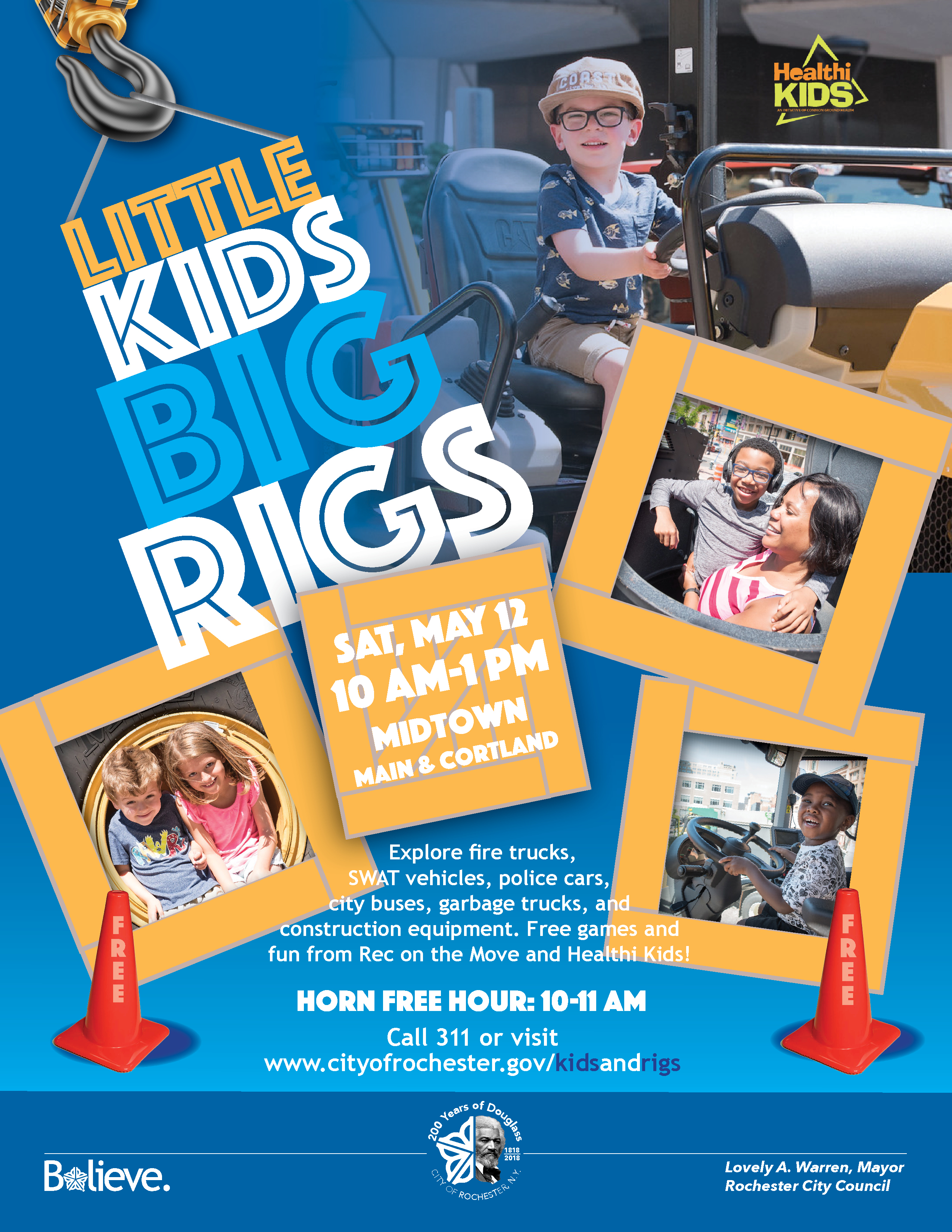 Little Kids Big Rigs 2018