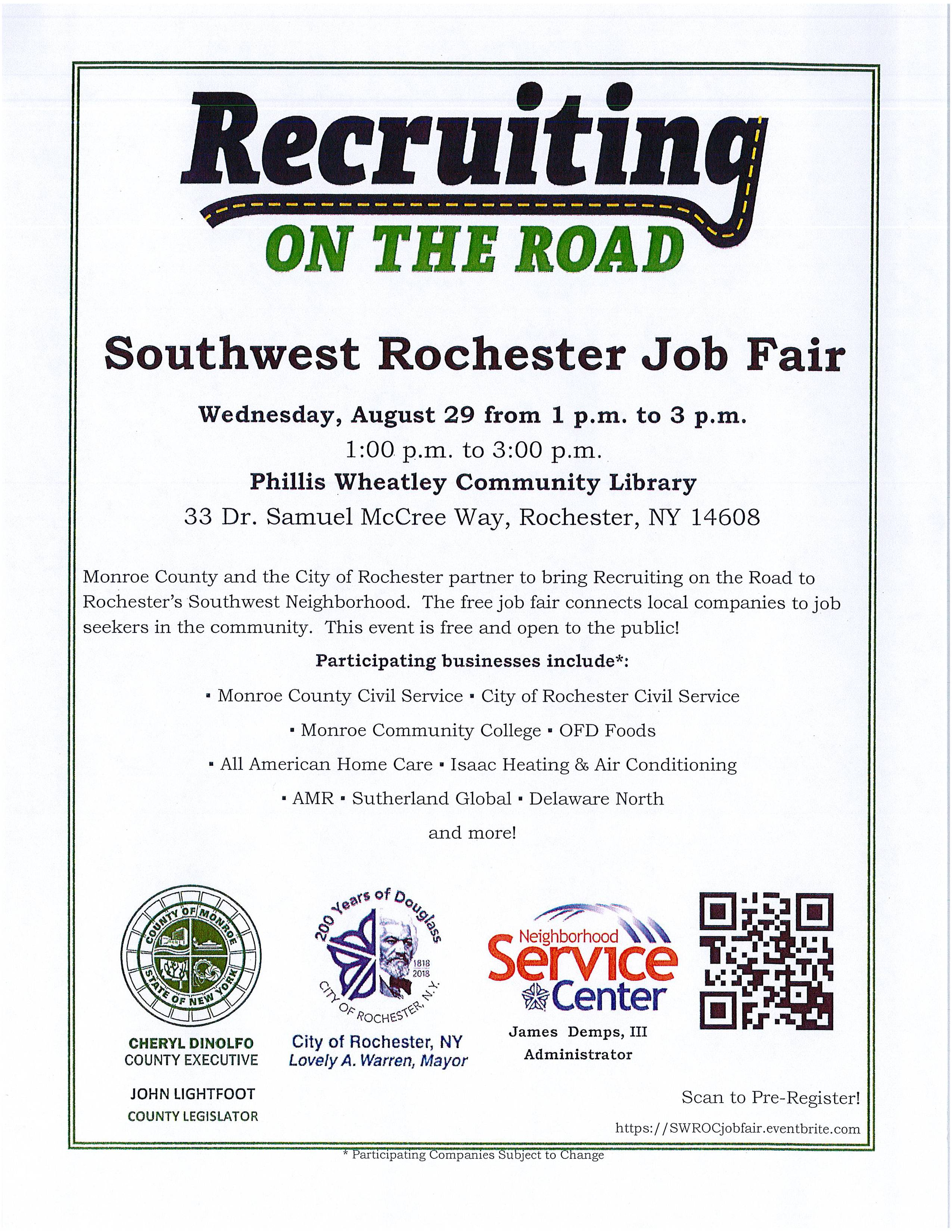 Recruiting on the Road South West Job Fair (1)