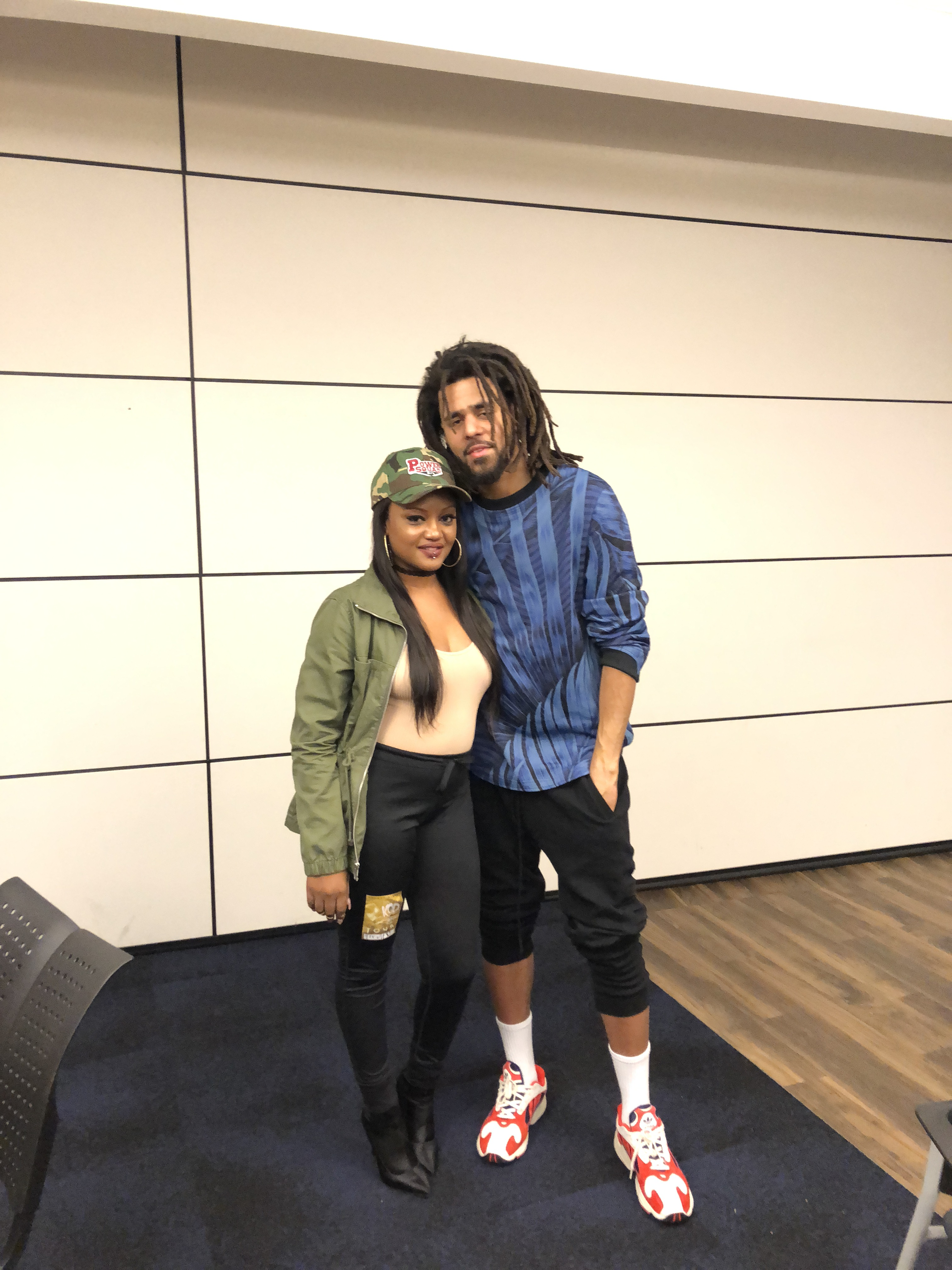 J cole kod tour buffalo new york wdkx after the show j cole did a meet and greet with wdkx listeners m4hsunfo