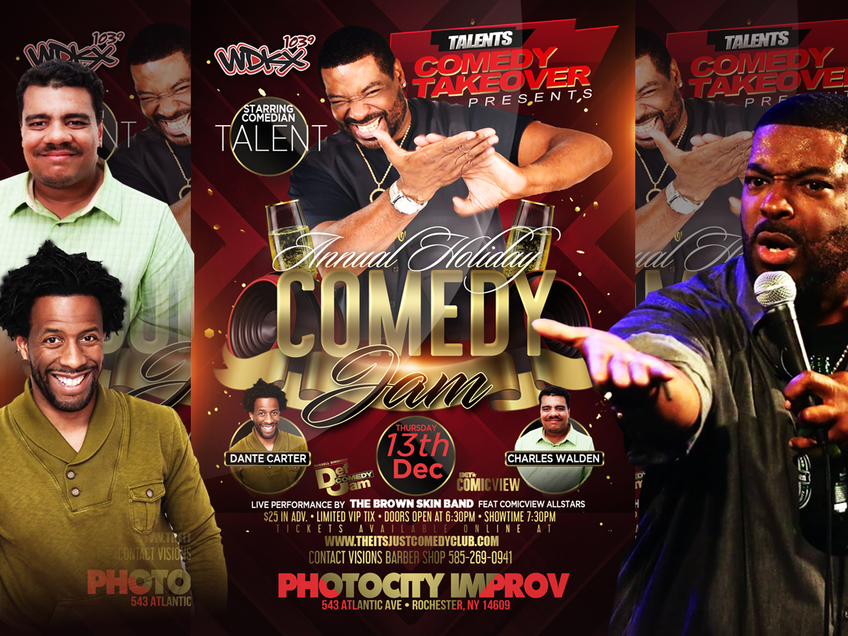 Talents Comedy Takeover